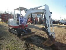 Takeuchi Tb 125 Mini Excavator 2802 Hours