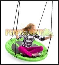 Indoor Canvas Nest Swing Green 100cm Special Needs Playground Equipment