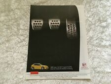 SEAT LEON 1.8 20V T CUPRA 225 PS 2004 POSTER ADVERT READY FRAME A4 SIZE I