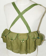 Collectable Surplus Chinese Army Type 81 Chest Rig Ammo Pouches Bag