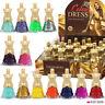 12 x Nail Polish Set Dress Shaped 2 Sets 24 Different Colours Luxury Box B4B