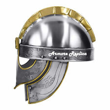 Medieval Armour Viking German Hand Carving Helmet Costume Ancient Helmet Replica