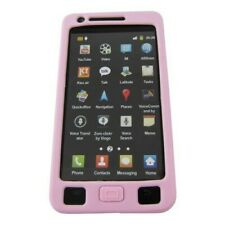 Silikon Abdeckung Case Cover Hülle Galaxy S2 / S2 Plus Samsung Pink