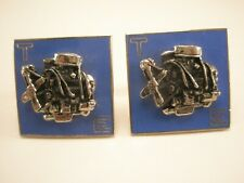 V8 Engine LARGE Vintage Cuff Links muscle car hemi 302 327 350 351 409 426 440