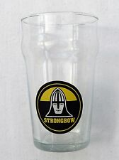 VINTAGE 60s/70s STRONGBOW CIDER BULMERS HALF PINT GLASS IMMACULATE strong bow