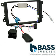 Skoda Fabia MK2 5J SWING Car Stereo Steering Wheel Interface & Double Din Kit
