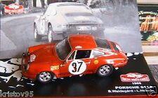 PORSCHE 911 S #37 RALLYE MONTE CARLO 1969 WALDEGARD HELMER 1/43 IXO