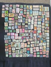 Collection World Stamp 240 USA IRAQ CHINA ITALY NORGE SPAIN DENMARK HELVETIA...