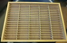 Vintage Napa Valley Box Company 90 Cassette Tape Storage Holder