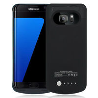 Ultra Slim Extended Battery Charging Case For Samsung Galaxy S7 SM-G930V Verizon