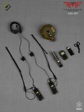 MSEGRU 1/6 Action Figure Mark Forester CCT USAF FAST Helmet PRC Radio Sunglasses