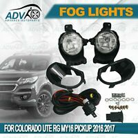 For Holden Colorado 2017-2019 Fog Lights Lamps Complete Kit WITH FREE BULB