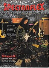Spectraflex Cables - Jake E Lee  - 1996 Print Advertisement