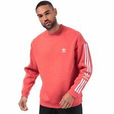 Men's adidas Originals Tech Regular Fit Crew Neck Sweatshirt in Pink