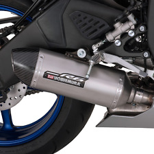 OEM YAMAHA YOSHIMURA Y SERIES SLIP ON MUFFLER FOR 2017 YZF R6 CARBON FIBER CAP