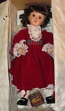 ~Ashton Drake Collectible Porcelain Doll Winter Elegance Nib~