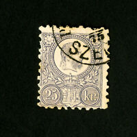 Hungary Stamps # 6 Used Fresh Catalog Value $200.00