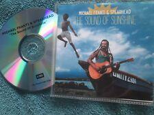 Michael Franti & Spearhead – The Sound Of Sunshine EMI UK Promo CD Album
