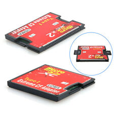 1/ 2 Port Slot Micro SD SDHC TF to CF Type I Compact Flash Card Reader Adapter