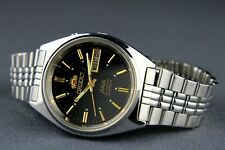 ORIENT Crystal AAA Automatic 21Jewels Japan Men's Mechanical Wristwatch