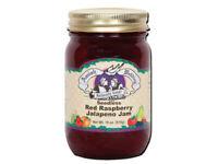 Amish Made Seedless Red Raspberry Jalapeno Jam - 18 oz - 2 Jars