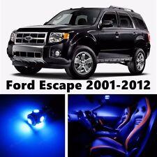 12pcs LED Blue Light Interior Package Kit for Ford Escape 2001-2012