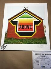 Above- Arrow Tavar Zawacki- Funny Farm Signed/ # and Embossed Print  with COA