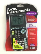 Calculatrice Ti-82 Stats.fr Neuf / Texas Instruments Graphique Scientifique Noir