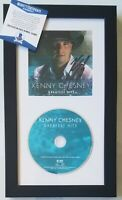 KENNY CHESNEY AUTOGRAPHED BECKETT COA BAS CD SIGNED COUNTRY MUSIC SINGER DISPLAY