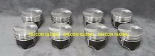 Ford 460 Hypereutectic Flat Top Pistons STD bore - Silvolite pistons only