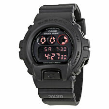 CRAZY DEAL NEW  CASIO G-SHOCK DW6900MS-1  BLACK DIGITAL MILITARY LIMITED WATCH