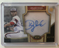 2020 Topps Tier One Dylan Cease Rookie Auto #3/10 White Sox