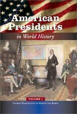 American Presidents in World History  - 5 Vol set (Middle School Reference)