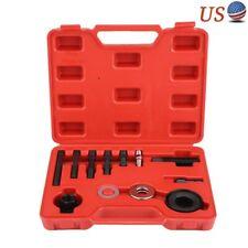 Pro Pulley Puller and Installer Power Steering Pump Remover Alternator 12 PC Kit
