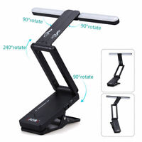 Clip on Rechargeable Music Stand Lamp for Piano LED Stage Light USB Charge