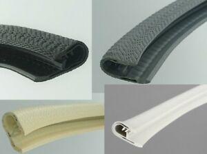 1-4 Kantenschutz Kantenschutzprofil Keder Band Klemm Profil Gummi PVC Muster