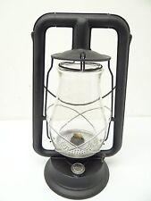 Vintage Used Black Metal Dietz Clipper USA Kerosene Tubular Barn Lantern Lamp