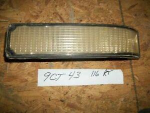 PASSENGER RIGHT CORNER/PARK LIGHT FITS 88-02 CHEVROLET 3500 PICKUP 13926