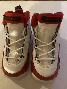 Toddler Jordan 401812-160 Retro 9 Cherry Gym Red Shoes Size 6C