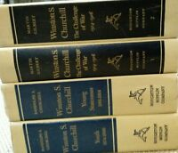 SET OF 4 WINSTON S. CHURCHILL PART 1 & 2 BY GILBERT THE YOUTH & YOUNG STATESMAN