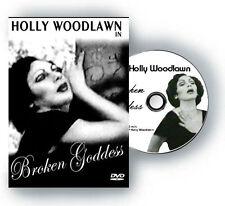 Holly Woodlawn RARE Signed and Kissed Broken Goddess DVD Warhol superstar