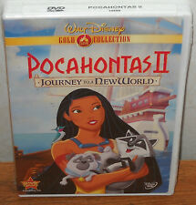 Pocahontas II: Journey To A New World (DVD, 2000) BRAND NEW!