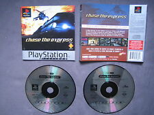 JEU Sony PLAYSTATION PS1 PS2 : CHASE THE EXPRESS (Platinum COMPLET envoi suivi)