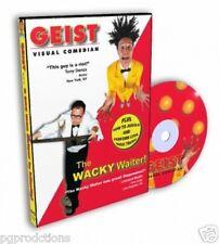 Visual Comedy Magic Dvd Napkin To Rose Trick Clown Gag Joke Hat Juggling Funny