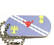 Oxfordshire County Flag Tag - Trackable For Geocaching (Travel Bug Geocoin)