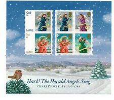GB 2007 Christmas unmounted mint mini / miniature sheet MNH stamps