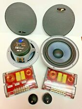 """Planet Audio PC 64CK 6.5"""" 2 way Component 300 Watts  1"""" Soft Dome Tweeter NEW"""