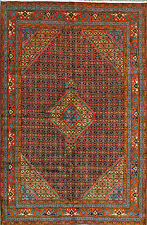 """6' 6"""" x 9' 10""""  Tabriz, Wool,  Authentic Hand Knotted Persian Rug"""