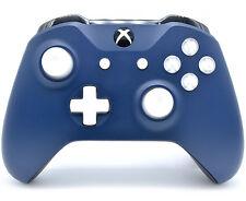 """Midnight Blue"" Xbox One S Rapid Fire Modded Controller, COD IW BO3, Destiny etc"