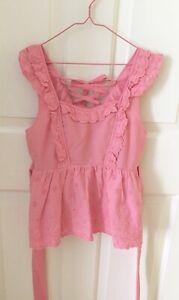 LIZ LISA Lace Camisole Top Kawaii Japan Pink Floral One Size Lolita Summer